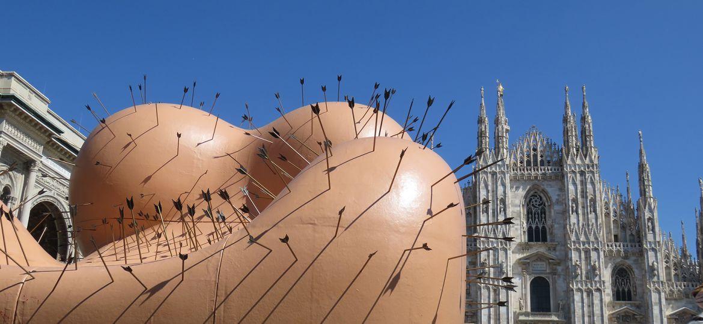 Milano Salone del Mobile-installazione UP B&BItalia bis